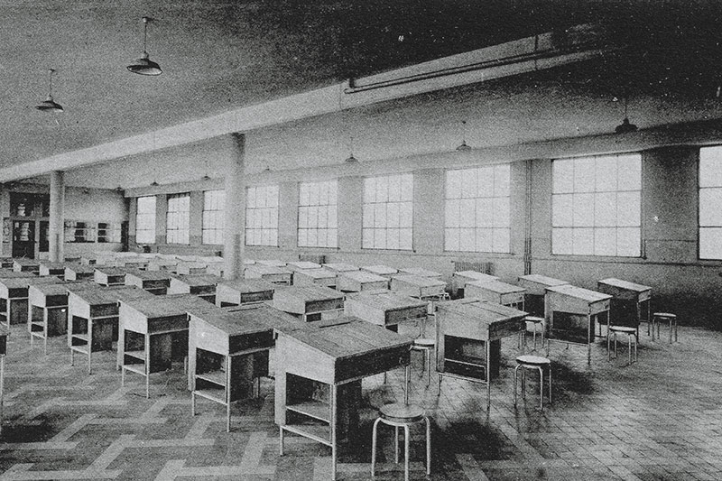 Salle d'études